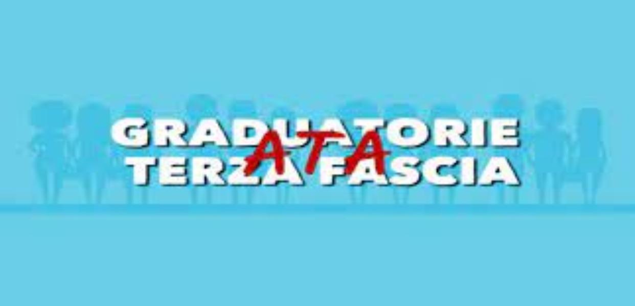 GRADUATORIE TERZA FASCIA ATA 2021/2023